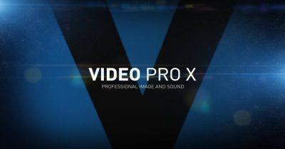 MAGIX Video Pro X Review